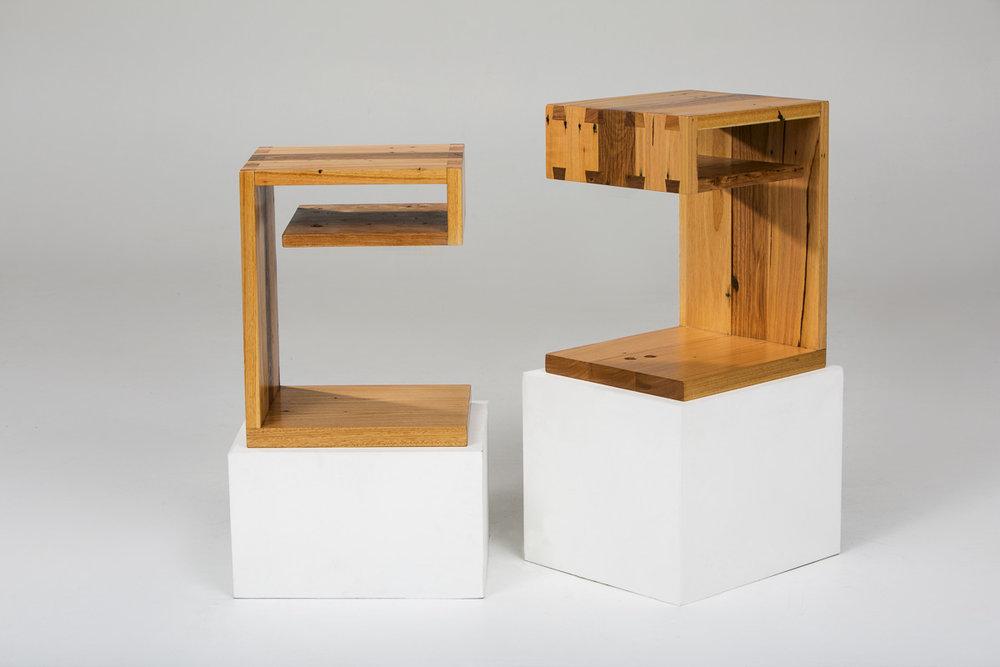 JIGSAW BEDSIDE TABLES