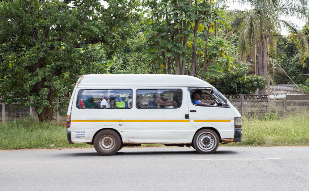 This is how many Africans get around because it's cheap and convenient. But it definitely is not the safest - you are shoulder to shoulder with people and drivers are drunk at times.