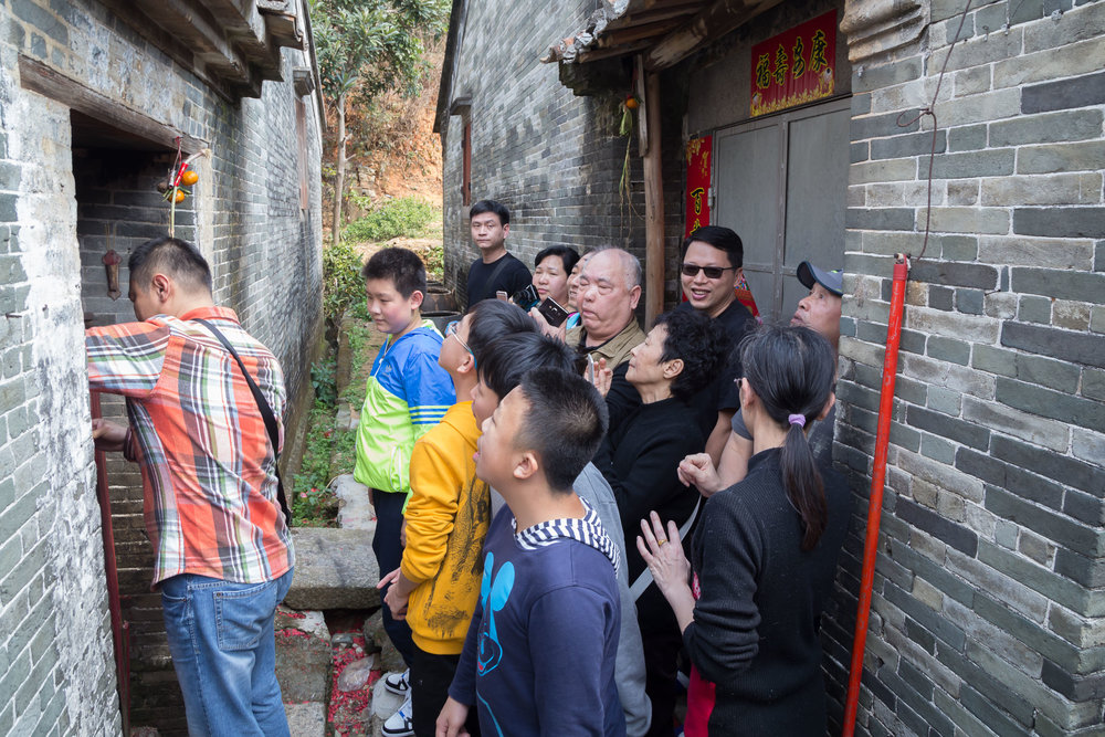Revisiting the village of our ancestors in China