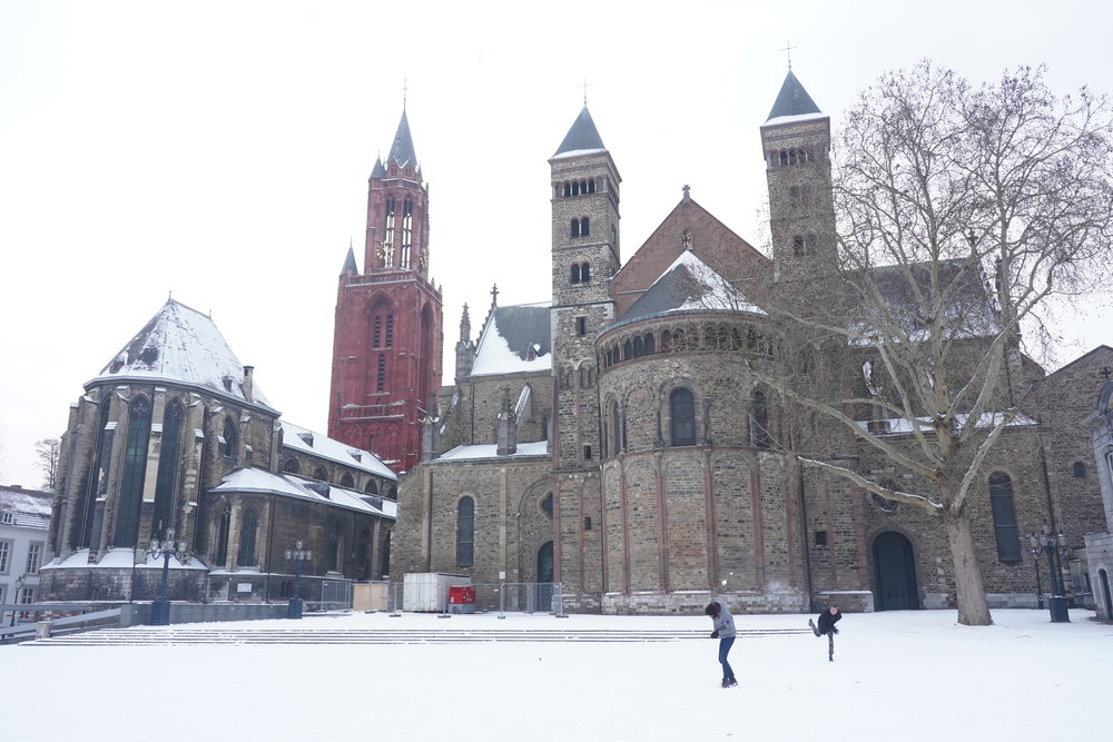 Vrijthof Square in the winter