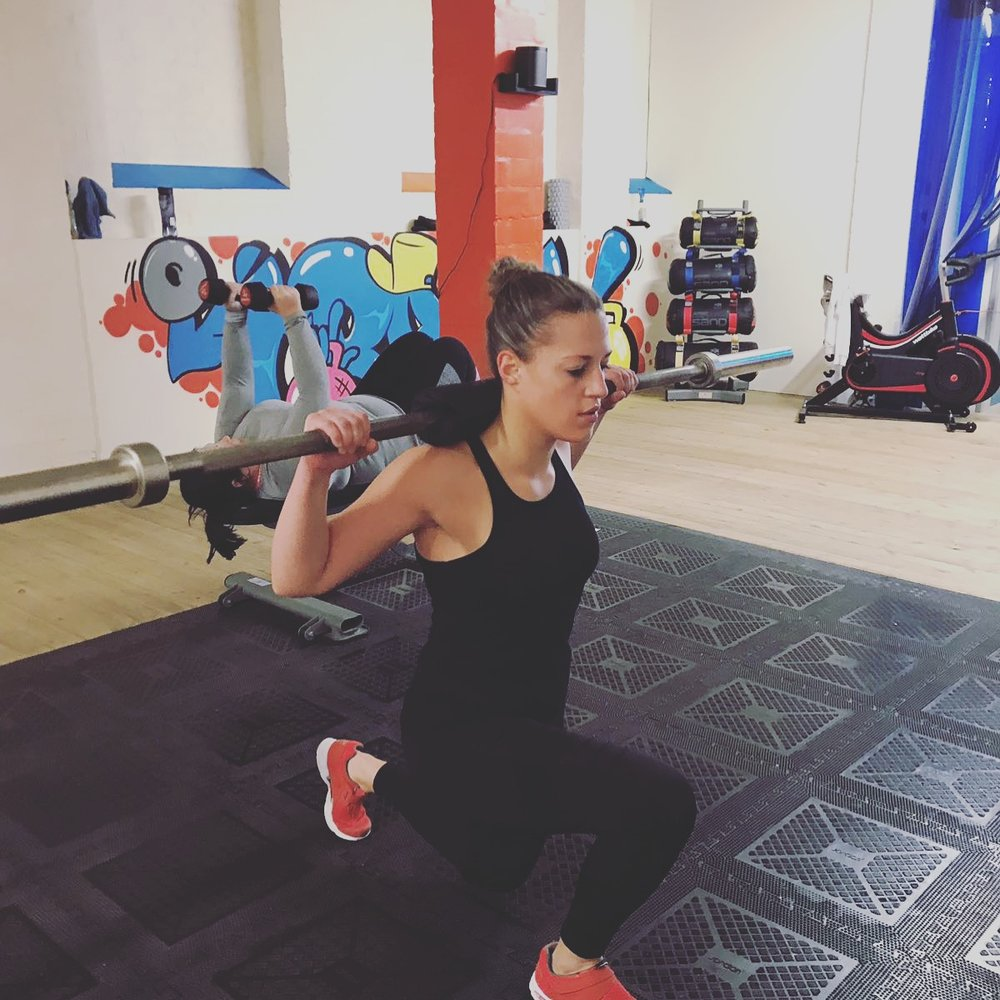 """Maria - """"I love HIIT TRX and Circuits, I can't pick just one favourite :) And I love the small group classes"""