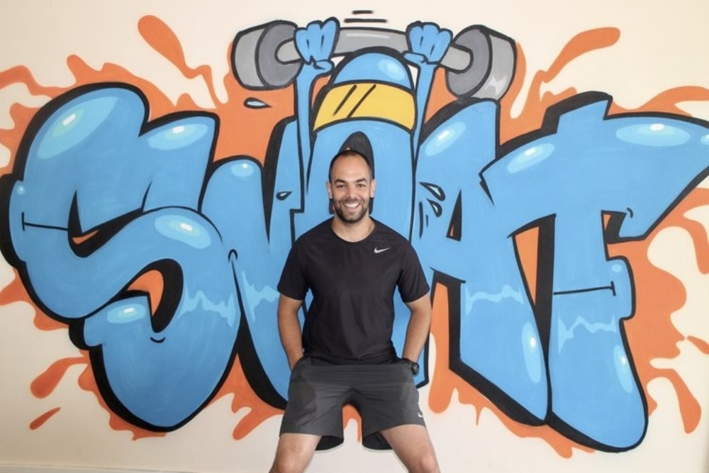 Luke - Sweat Southsea co-founder Luke has firmly established himself within the fitness industry building a reputation as one of the leading personal trainers in the region. Luke is passionate about helping people reach their potential and achieve their goals and this passion led him to co-create SWEAT. Luke prides himself on his ability to connect with his clients, understand their motivations and become a positive influence in their lives. He says his relationship with clients is based on teamwork, honesty, continued assessment and goal setting. Training with Luke, you'll find yourself building confidence as well as fitness levels.Level 3 personal trainer / TRX® certified trainer / Biomechanics Trainer / Kettlebells and Padwork qualifications / Pre and Post Natal Exercise pending / UKSCA associate member