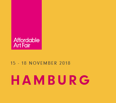 Affordable Art Fair, Hamburg  15. - 18. November 2018   www.affordableartfair.com/fairs/hamburg