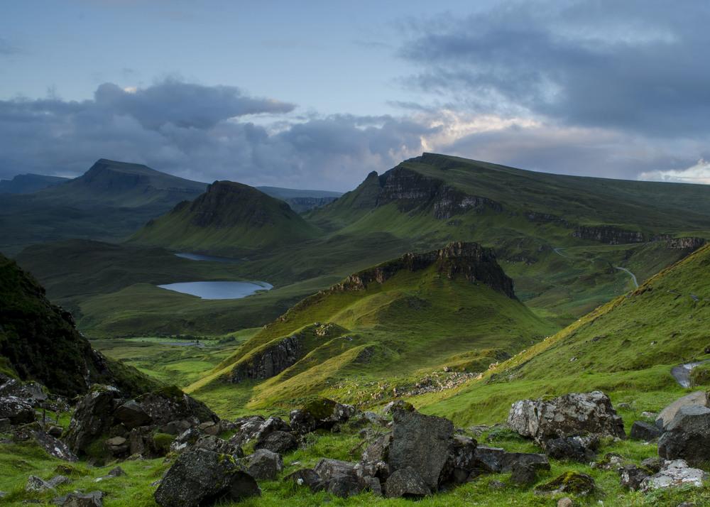EARLY MORNING LIGHT, Isle of Skye