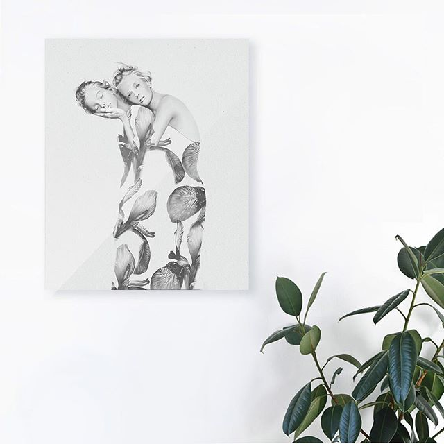 New Illustration in interior 🌸 #artininterior #interior #posterininterior #artist #fashionillustration