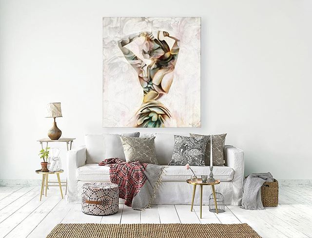 Mew Painting, 🌸Body and Flowers🌸In Interior. Poster available in my shop.#sale #art #painting #artininterior #posterininterior #interior #designinterior