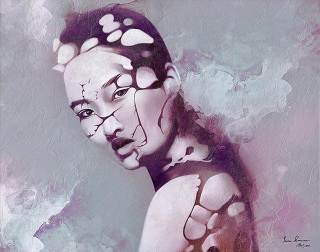 New Painting! Broken 👌🏻#art #drawing #painting #contemporaryart