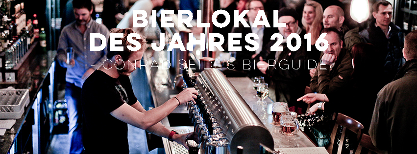 We are honoured to be voted Bierlokal des Jahres 2016 (Wien) by Conrad Seidl's Bierguide! www.bier-guide.net