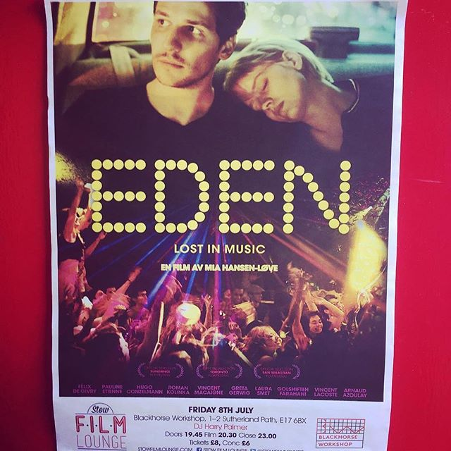 Ice cream sandwiches/scoops/90s French rave culture mega combo ・・・ Fancy a film? We're partnering with local film legends @stowfilmlounge to host a screening of Eden, directed by Mia Hansen-Love which explores the club culture of Paris in the 90s. Daft Punk & Frankie Knuckles soundtrack! Screening Friday 8th July, tickets £8 available via the events page on our website. There will be hot! hot dogs and a bar too. 🎥#e17 #screening #eden #lightscameraaction