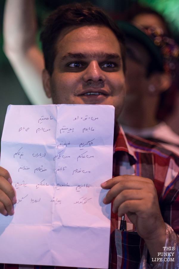 He had written a poem