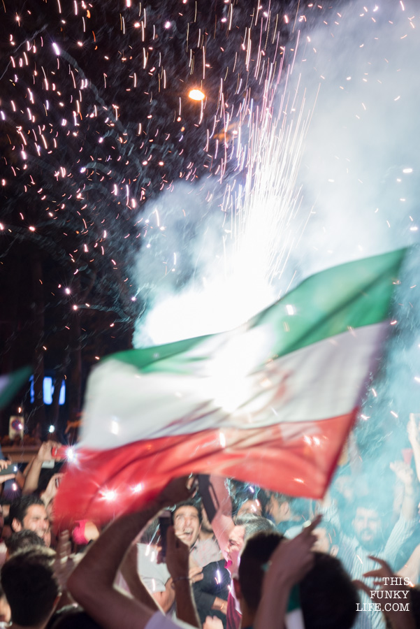 Iran celebrated with all it had