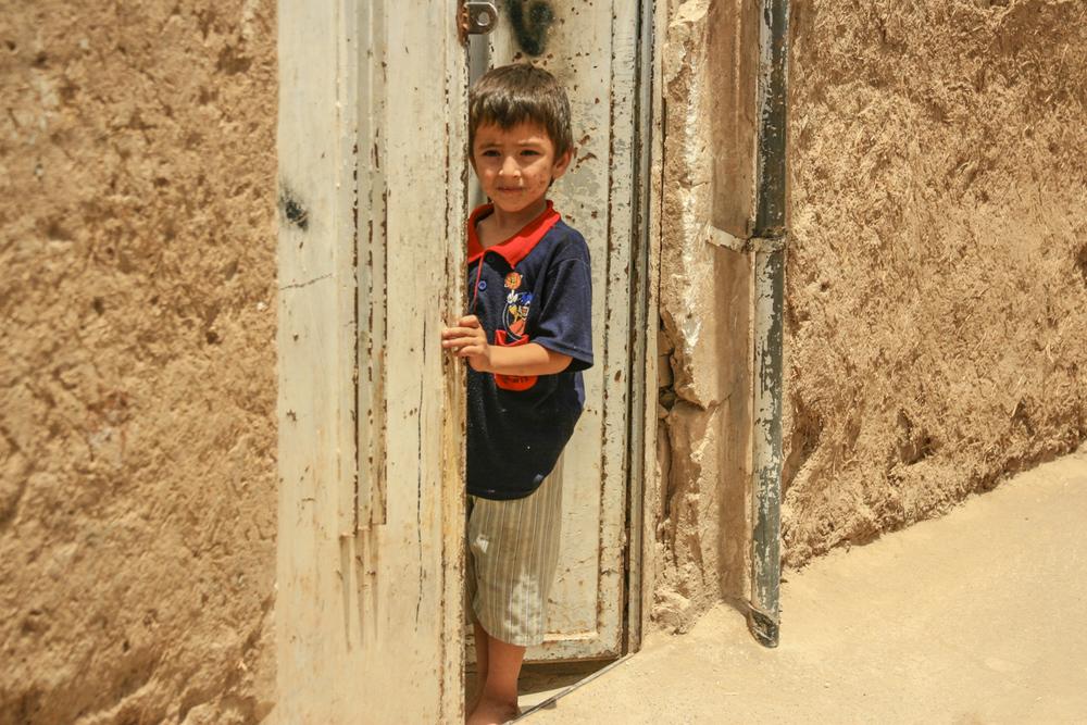 I saw him in Kashan, Iran.