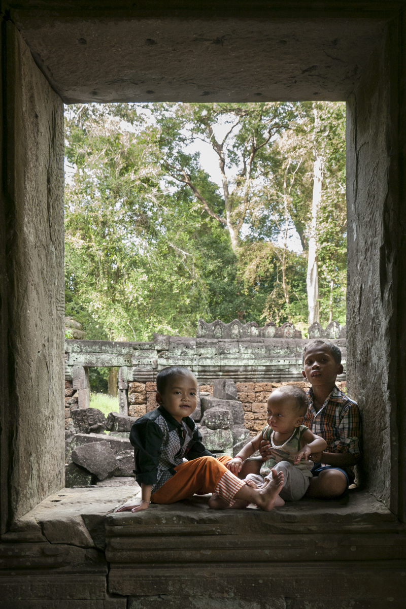 I saw them in Siem Reap, Cambodia.