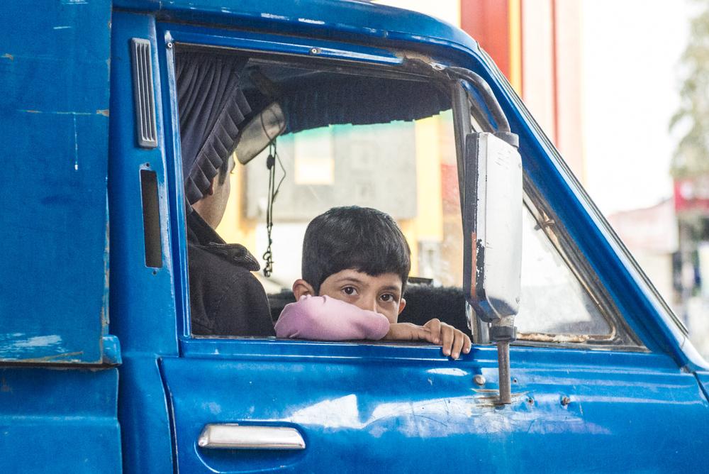 I saw him in Kerman, Iran.
