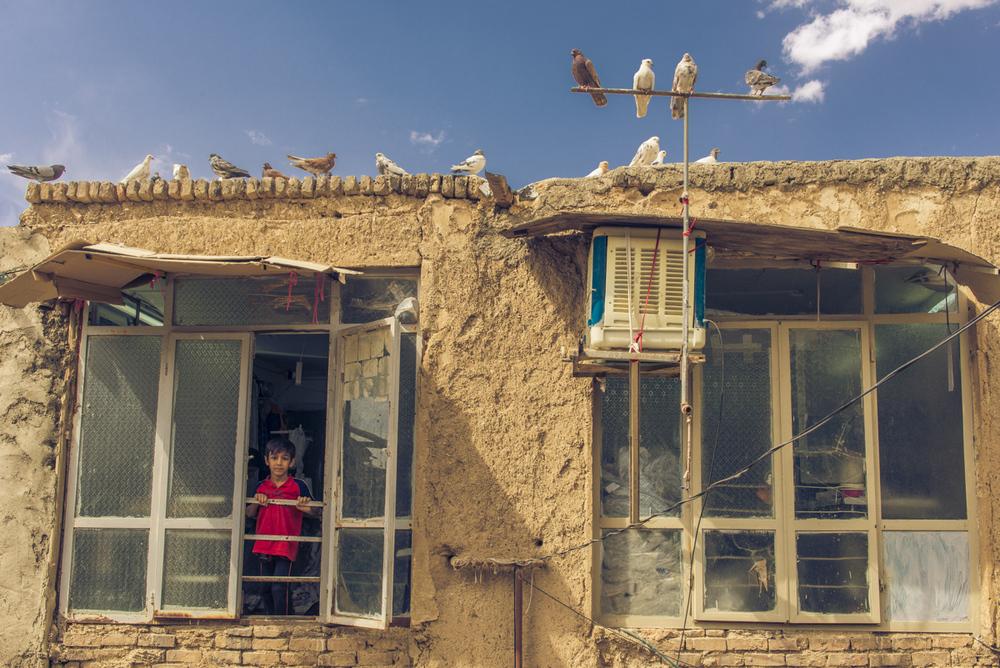 I saw him in Arak, Iran.