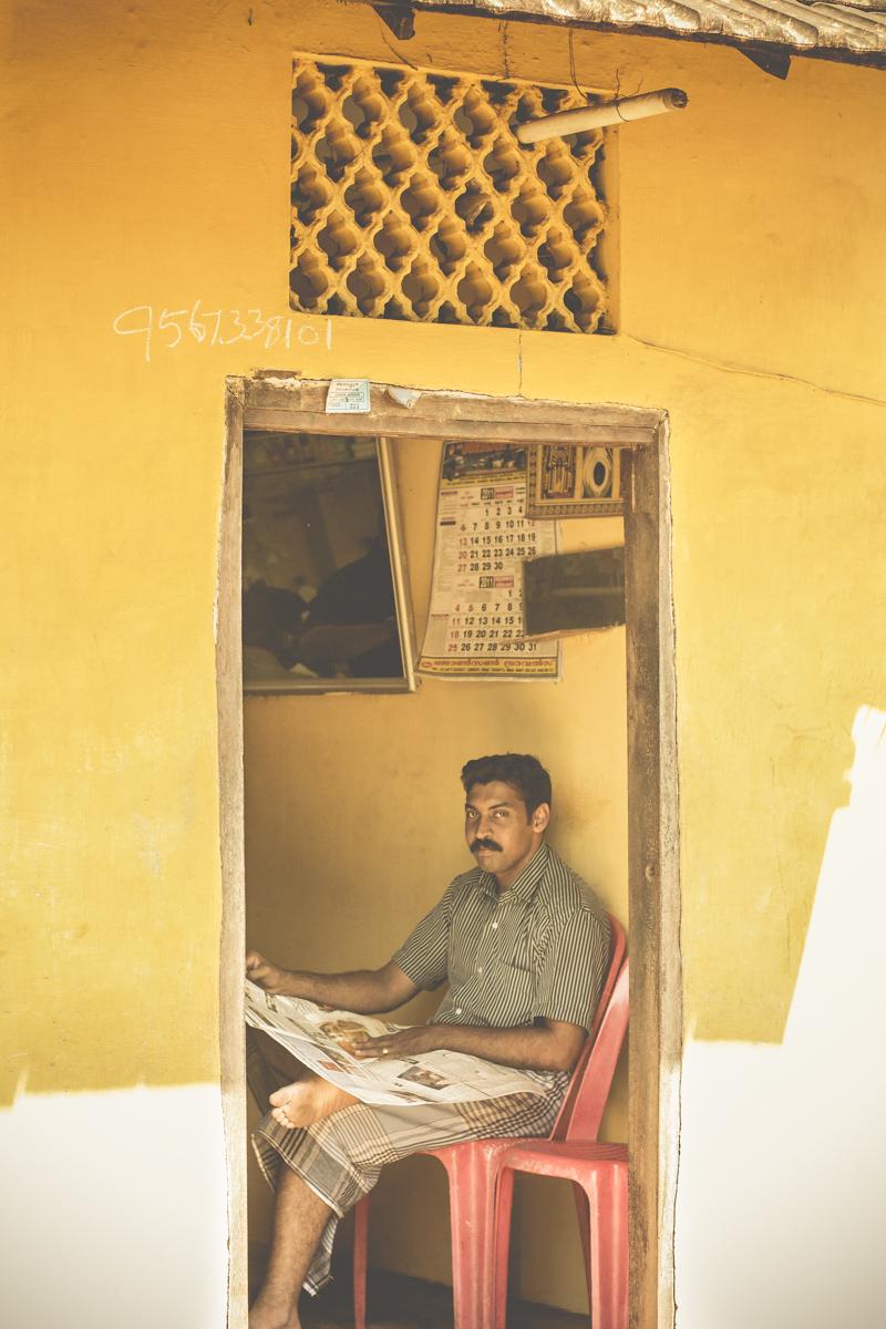 I saw him in Cochin, Kerala, India.
