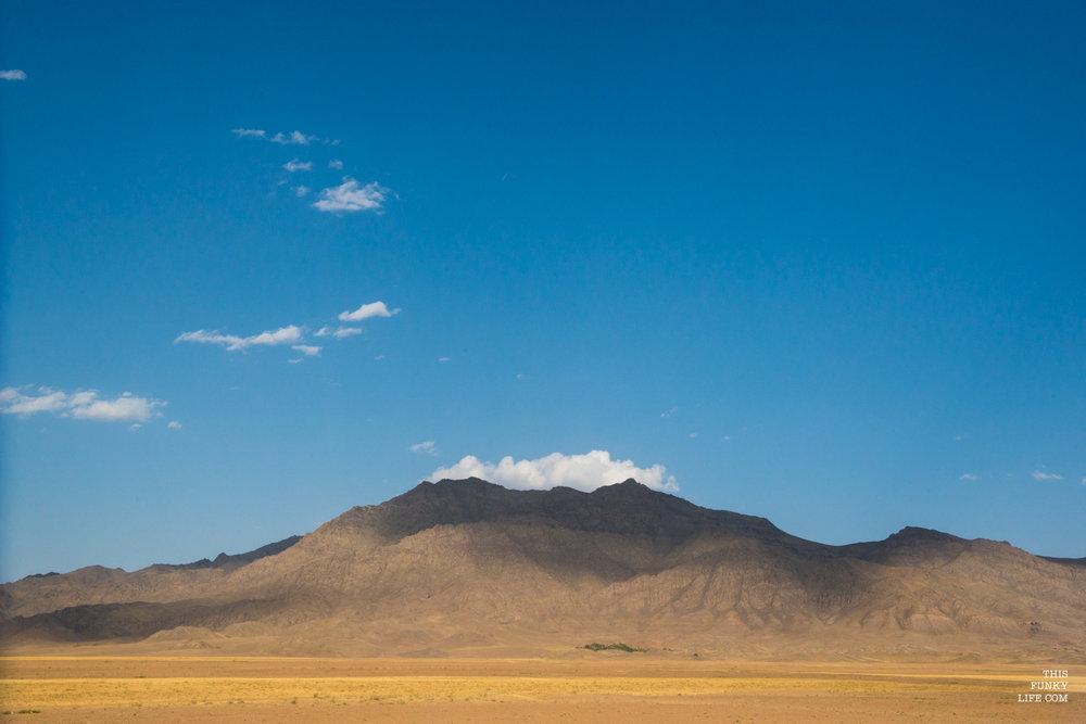 Enroute to Arak, Markazi Province, Central Iran