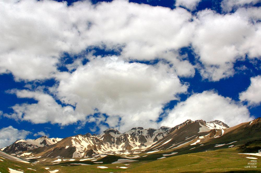Marshmallow Clouds in Alvares   Alvares, Ardabil Province, North Western Iran