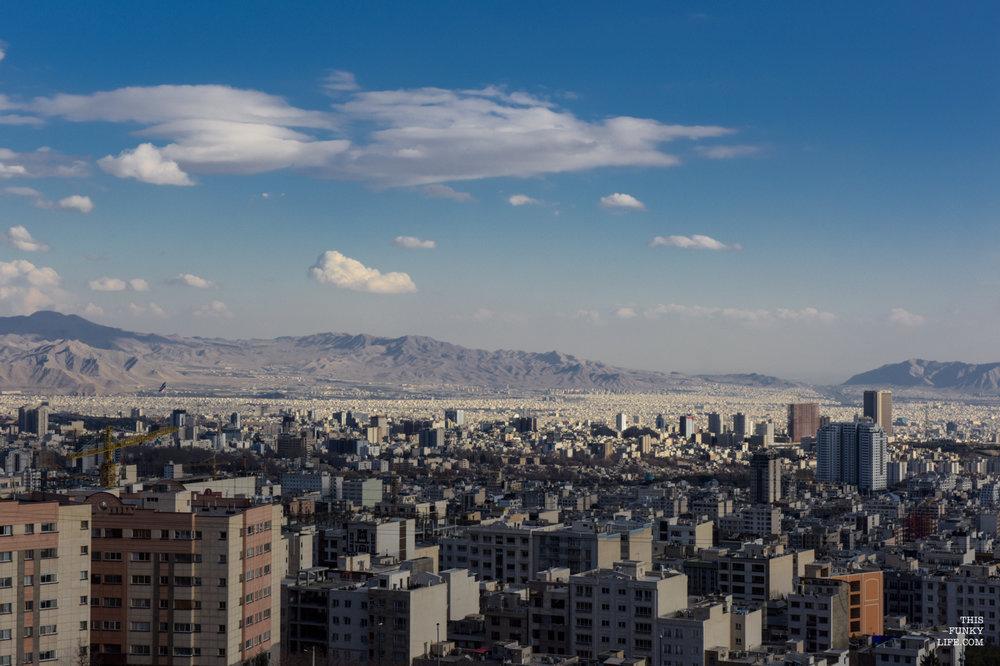 Tehran's Unending Urbanscape   Tehran, Iran