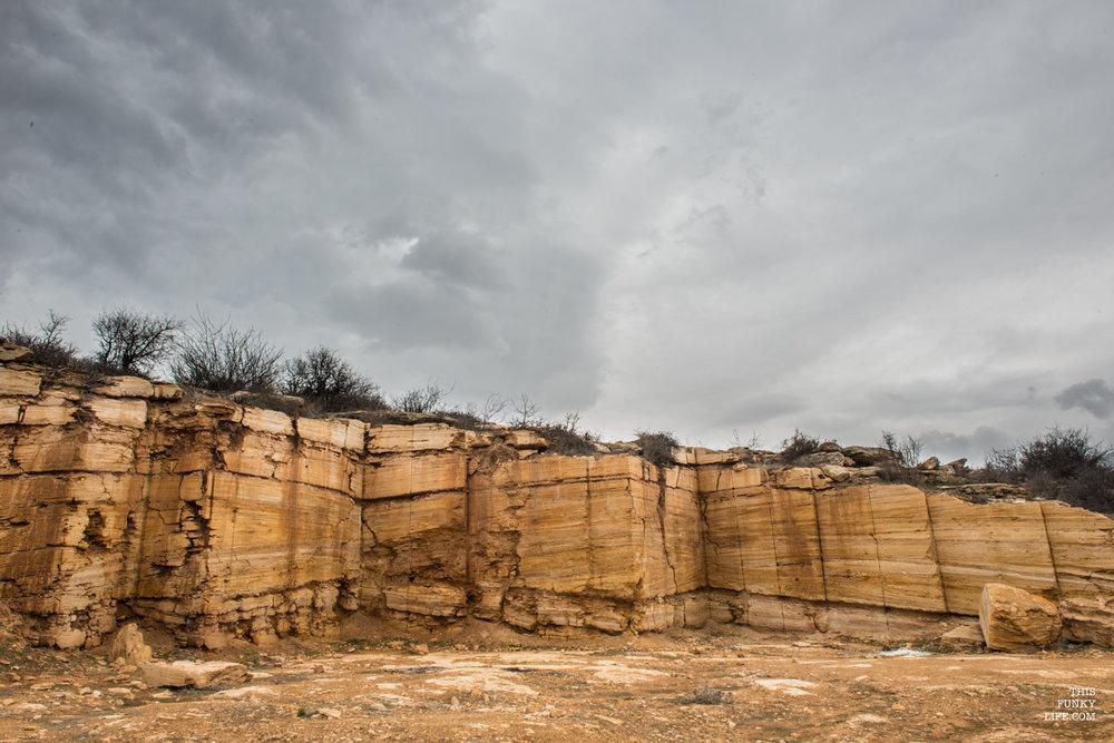 Mineral deposits   Orost, Mazandaran Province, Northern Iran