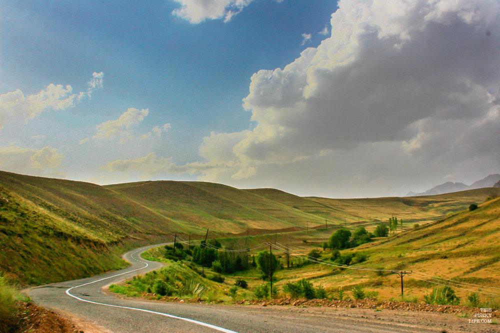 Taleghan's Curvy slopes   Taleghan, Isfahan Province, Central Iran