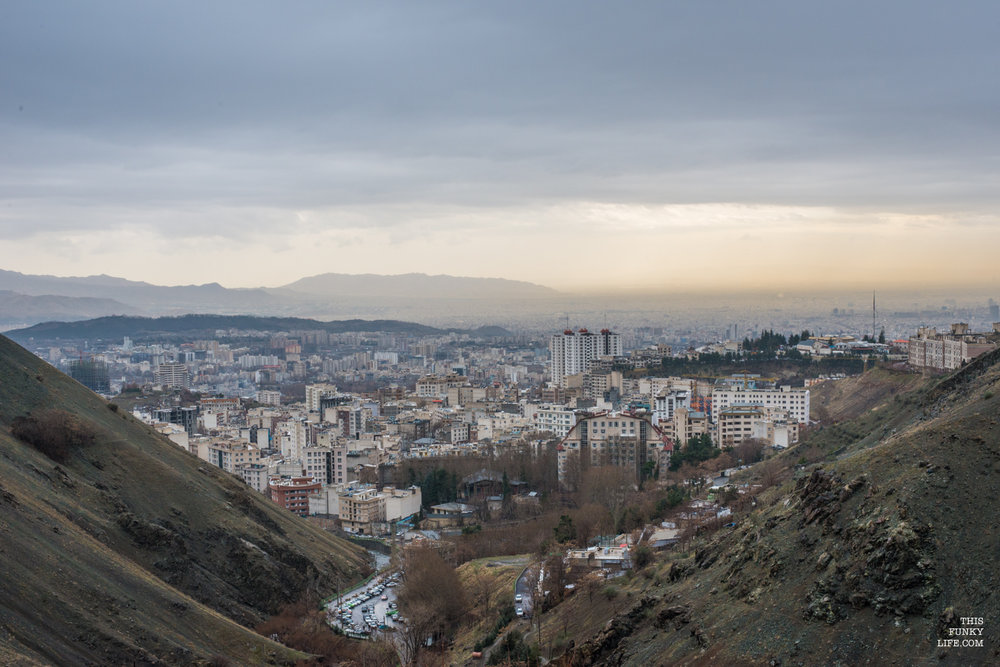 Tehran from Darakeh Valley | Tehran, Darakeh