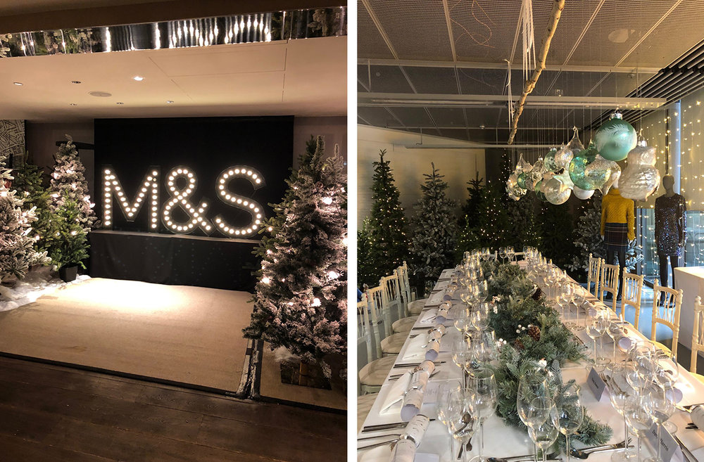 M&S Corporate Xmas Event