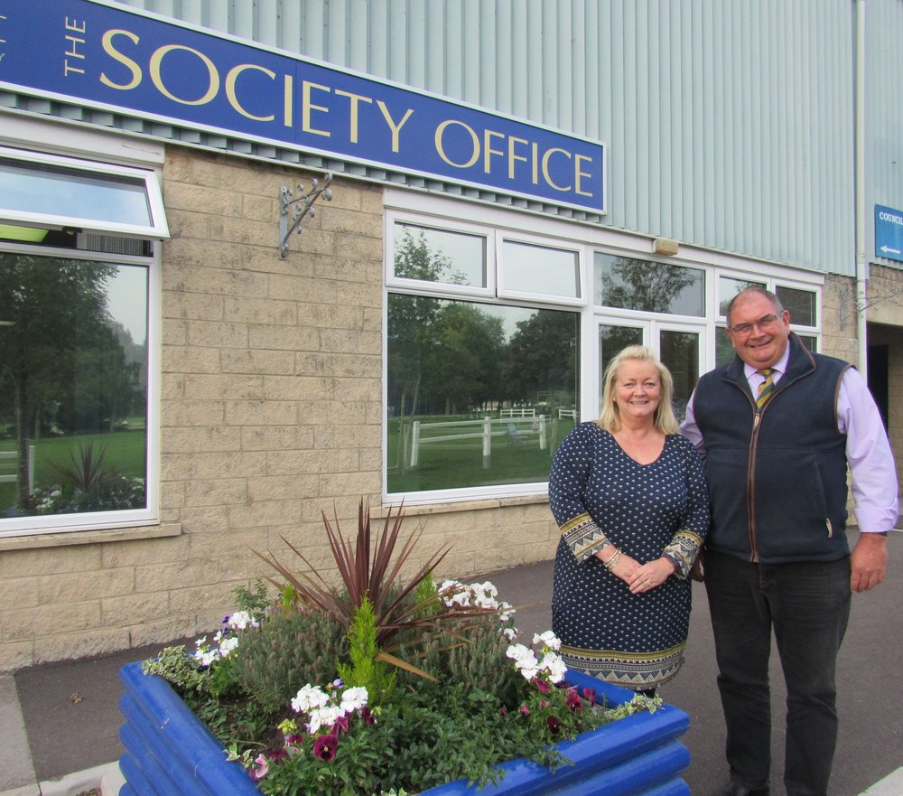 Debbie Howarth and Rupert Cox at the B&W Society Office.jpg