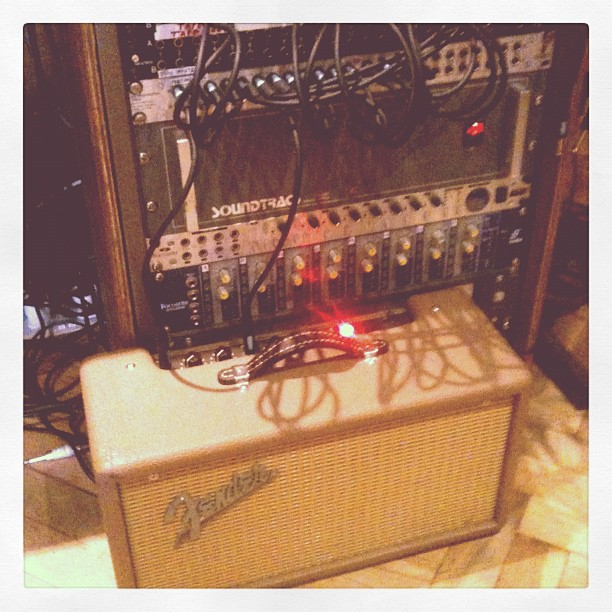 Oh sorry did you want a Spring reverb PLUGIN? (Taken with Instagram at Soup Studios)