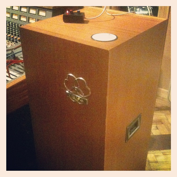 Akg BX20E spring reverb (at Soup Studios)