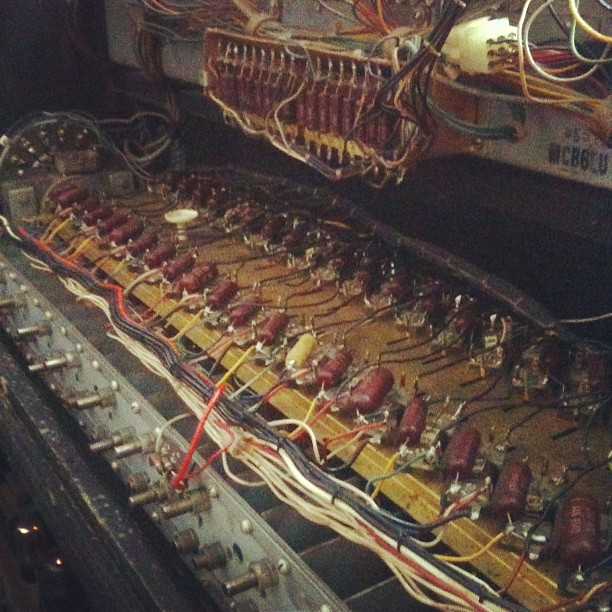Inside the Hammond! (Taken with Instagram)