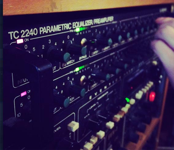TC electronics parametric EQ in action