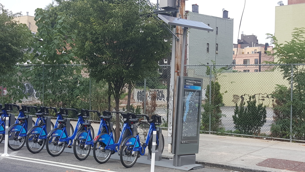 "NYC CITIBIKES ""OFF GRID"" SOLAR"