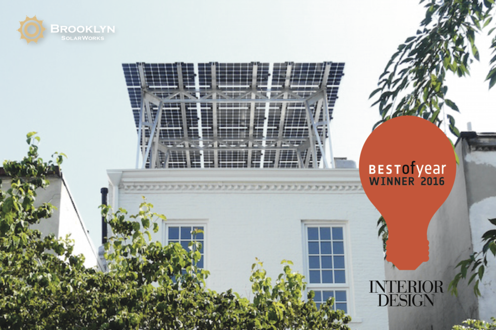 last thursday the solar canopy won interior design magazines green innovation best of 2016 award we are the only solar company in the us to be honored - Green Canopy 2016