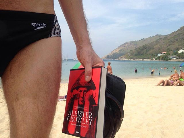 Searching for the Ultimate sin. #bythepool#aleistercrowley