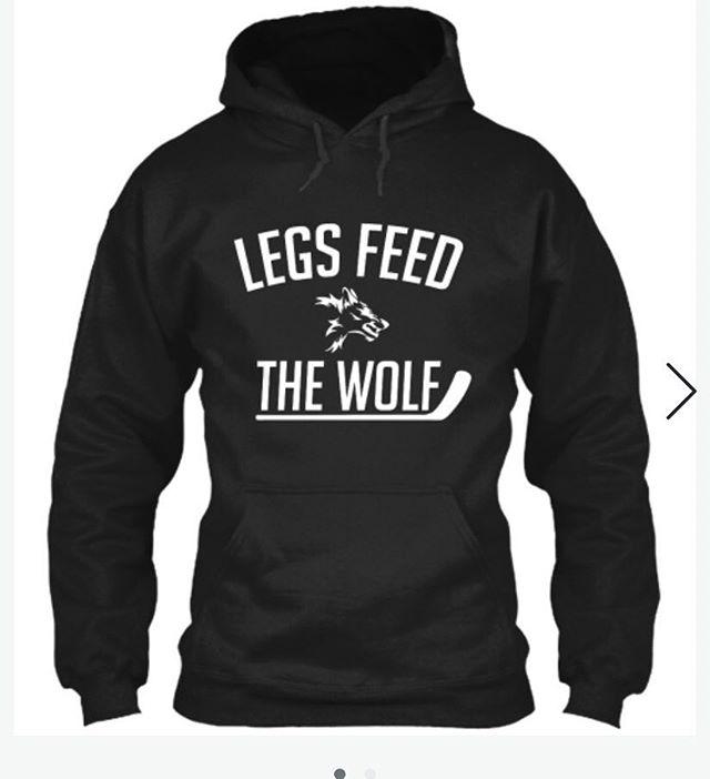 We've added a hoodie to the lineup as well. Get one now before they're gone...Link in bio . . #hockey #hockeylife #hockeyfan #hockeygame #hockeyteam #legsfeedthewolf #herbbrooks #usa #america #usahockey #teamusa #tee #tees #tshirt #tshirts #teespring #miracle #wolf #hoodie #hoodies #gongshow #ferda #ftb #ccm #bauer