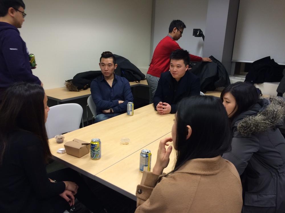 2016-01-20 Student Meet and Greet at University of Toronto