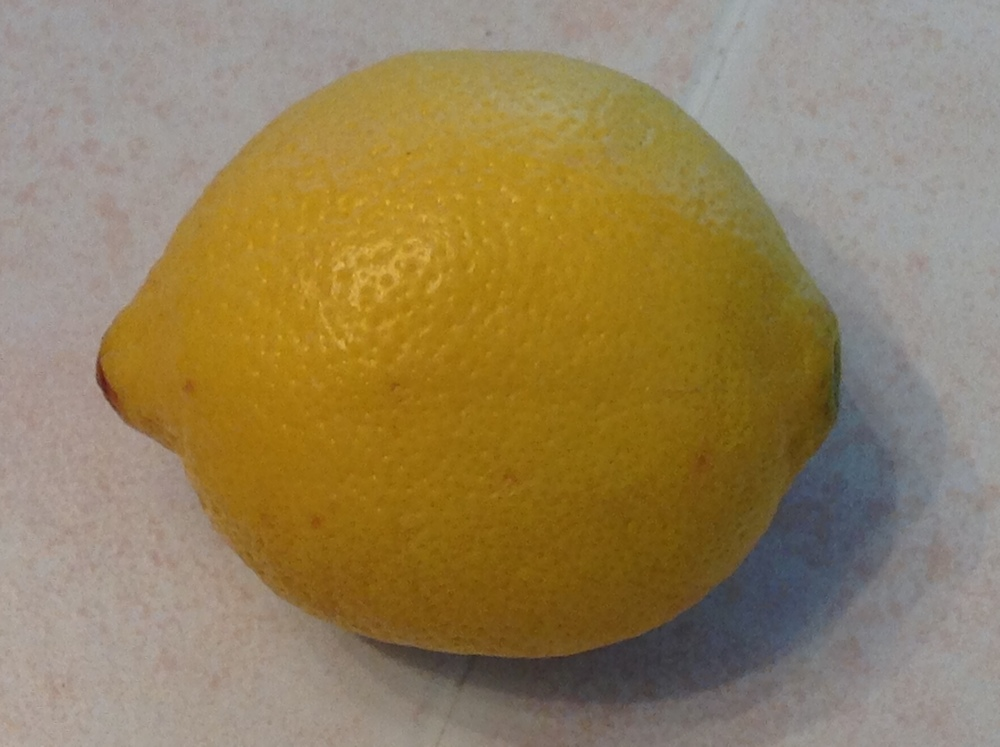 Sunny, yummy lemon!