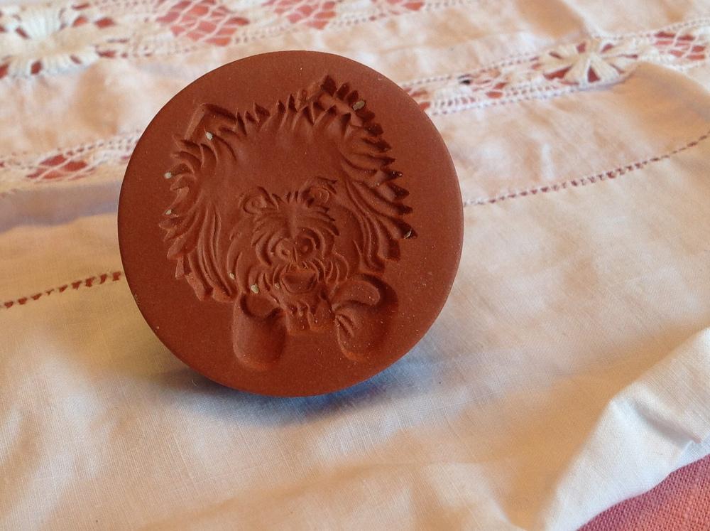 Westie Cookie Stamp