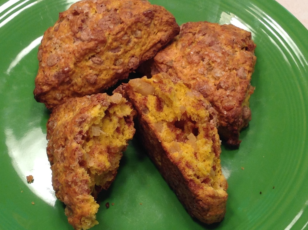Harvest Pumpkin Scones