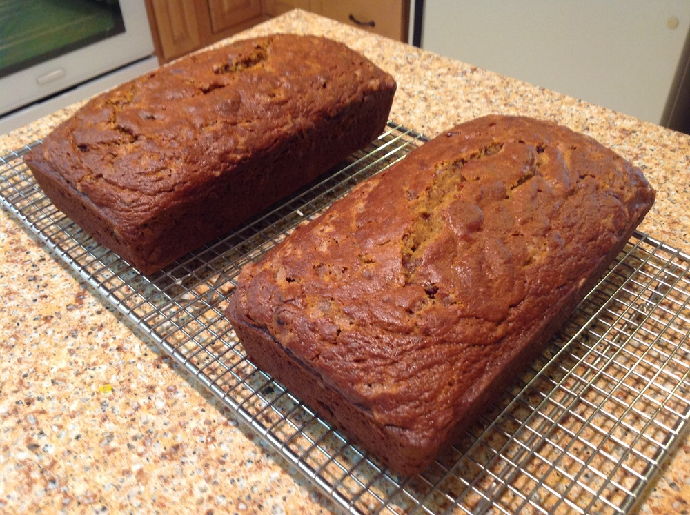 Pumpkin quick breads