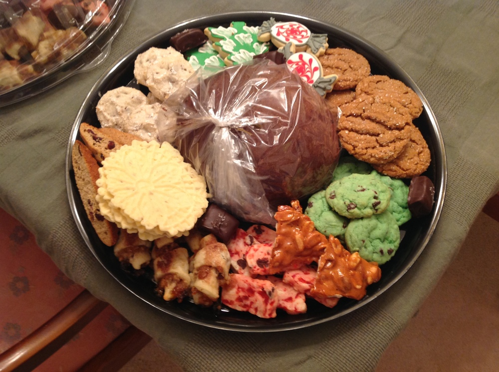 Cookie tray ready for delivery!