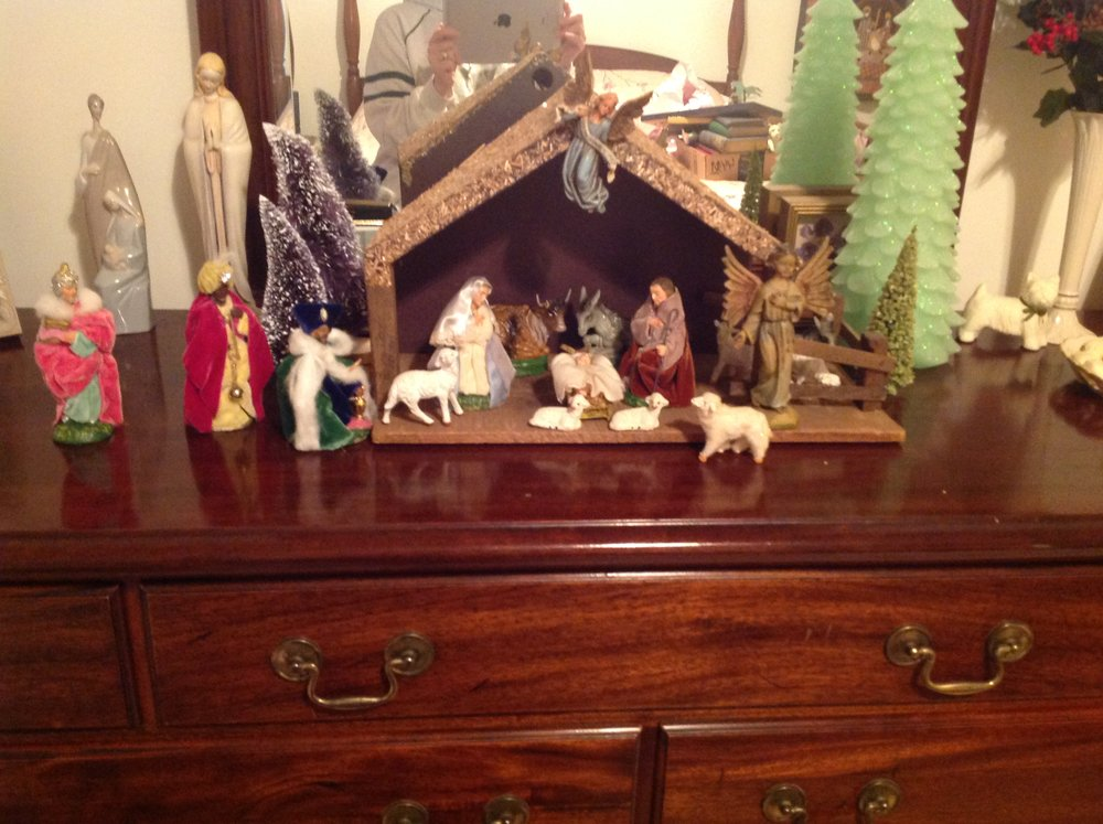 Mom's Nativity Scene