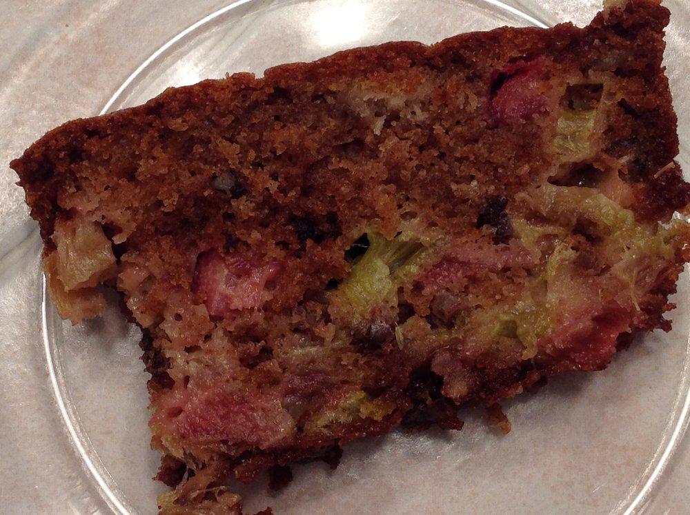 Cinnamon Rhubarb Quick Bread
