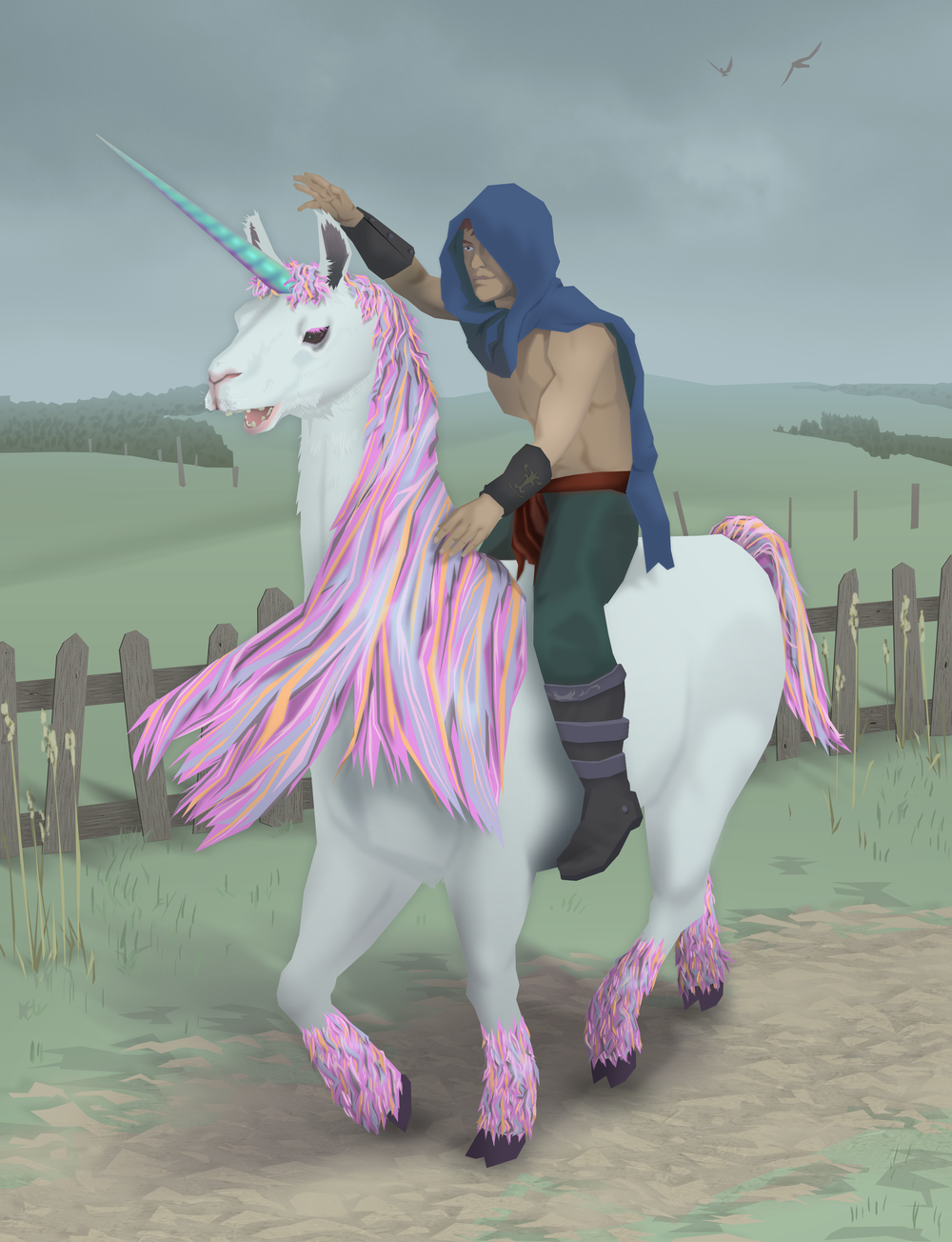 He Who Tames The Llamacorn