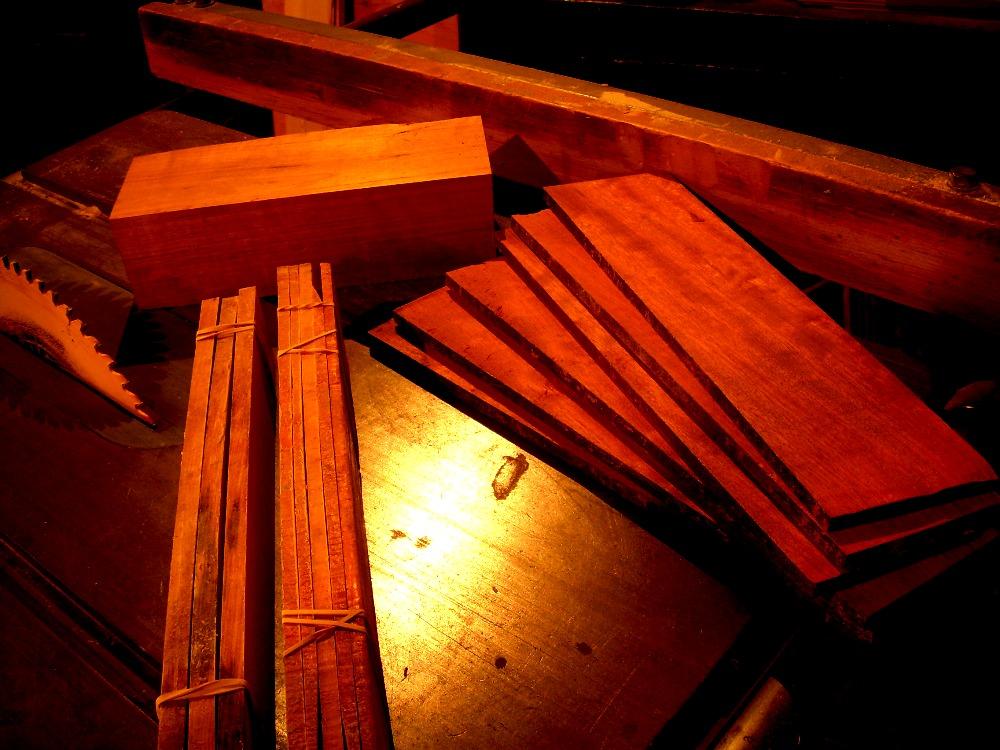 resawn exotic hardwoods