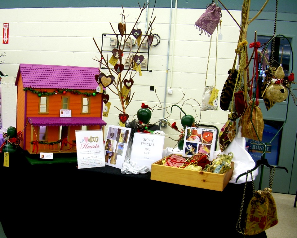 My booth at the LHS Class of 2017 Craft Fair in 2015.