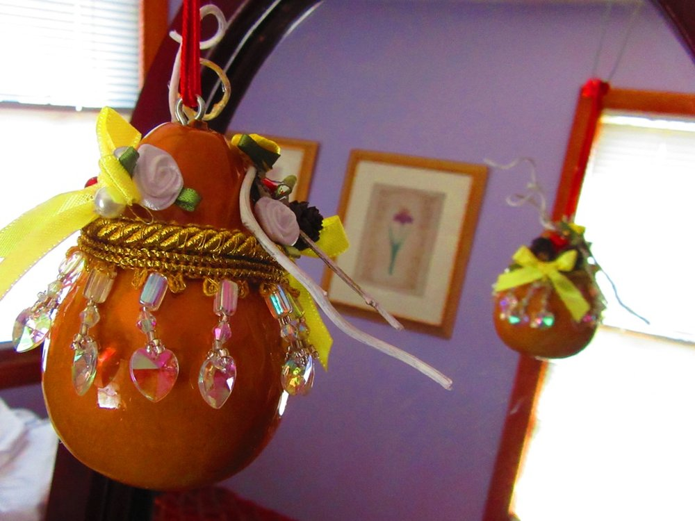 spring ornament gourd