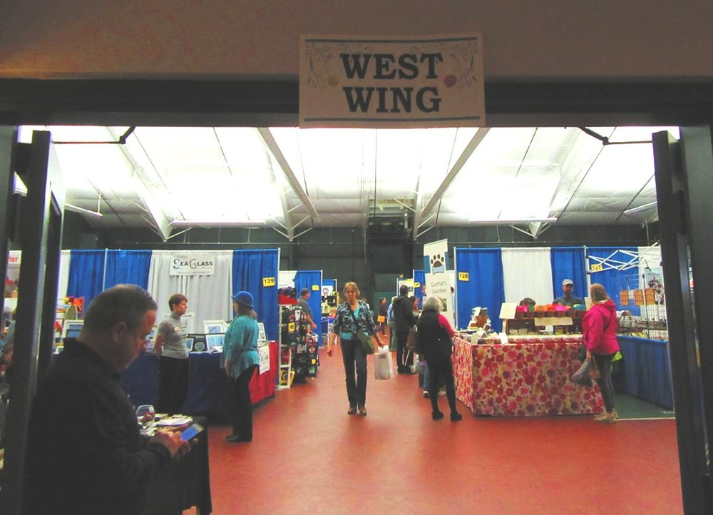 The West Wing is where my booth was located.