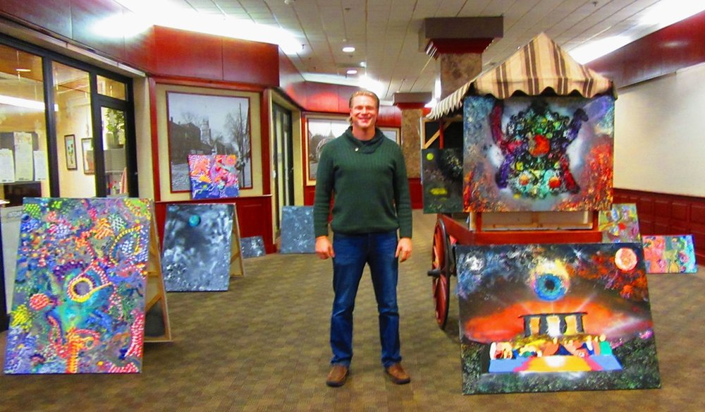 Derek Lynch and his incredible paintings (contact: lyncharthurderek@gmail.com)
